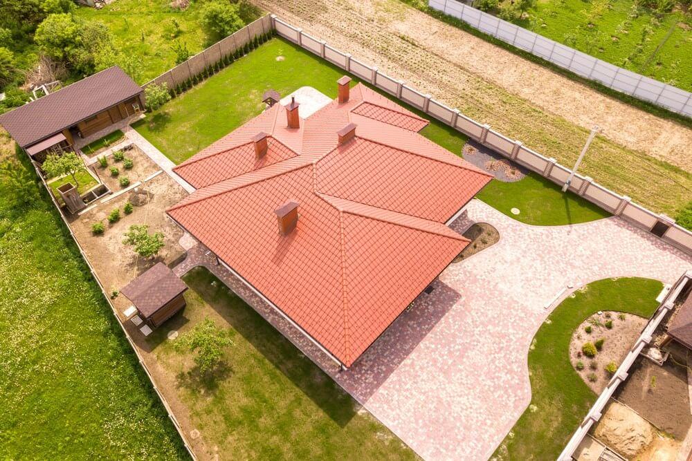 Umístění domu na pozemku